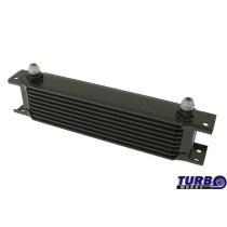 Olajhűtő TurboWorks 9-soros 260x70x50 AN8 Fekete